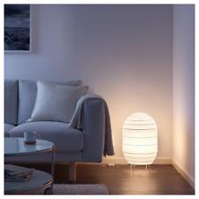 "Ikea STORUMAN Floor Lamp Modern Paper Shade White 22"" - NEW in Box"