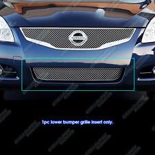 Fits 2010-2012 Nissan Altima Sedan Lower Bumper X Mesh Grille Insert