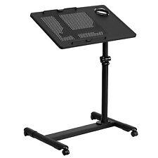 Sit Or Stand Computer Workstation On Wheels Ergonomic Adjustable Laptop Bed Desk