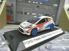 Ford fiesta s2000 rally Ypres combatió 2014 #9 Kobus Kumho Tyres transformación Ixo 1:43