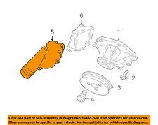 AUDI OEM 05-09 A4 Quattro 3.2L-V6 Water Pump-Cover 06E121168