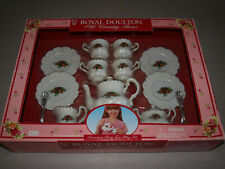 Royal Doulton - England - Old Country Roses - 17 Piece Play Tea Set - 1997 - NIB