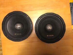 """Orion XTR/XTX 8"""" 4 Ohm Midrange Speakers"""