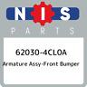 62030-4CL0A Nissan Armature assy-front bumper 620304CL0A, New Genuine OEM Part