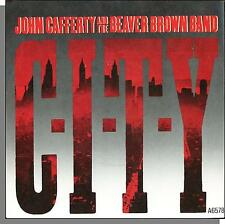"John Cafferty & The Beaver Brown Band - CITY + Where The Action Is -7"" Single!"