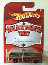 HOT WHEELS 83 Chevy Silverado Pickup Truck 2010 Valentines Day VHTF Rare