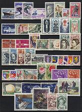 1962  ANNEE COMPLETE ** du # 1325 au # 1367 / COTE 58.00 € (ref 5992)