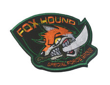 Fox Hound Special Force Group Morale Badge 3D Usa Army U.S. Embroidery Patch #01