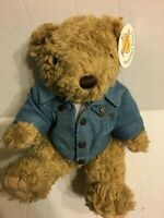 "Hard Rock Cafe New York Bear NEW 11"" Plush Stuffed Animal"