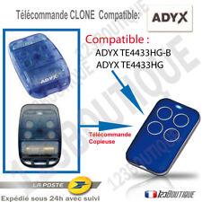 TELECOMMANDE MULTIFREQUENCE COMPATIBLE ADYX TE4433HG-B TE433HG BRAVO PORTAIL BIP