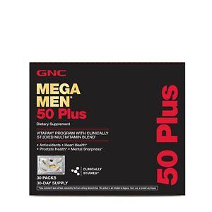 GNC Mega Men 50 Plus Vitapak Program 30 Packs