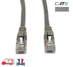 Câble RJ45 CAT6/ CAT5 UTP câble rond Ethernet câble réseau cordon Lan