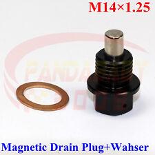 M14X1.25 ENGINE MAGNETIC OIL PAN DRAIN PLUG BOLTS CRUSH WASHER M14 BOLT KIT BK