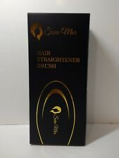 Hair Straightener Brush Sara Mor Heated Gold Detangle Comb for Straightening