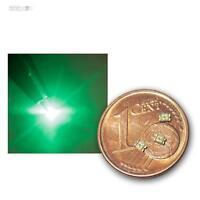 10 SMD LEDs 0805 Grün, grüne mini LED SMDs SMT green vert groene verde groen