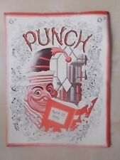VINTAGE PUNCH MAGAZINE APRIL 27th 1955 HUMOUR - CARTOONS - ADVERTS FREE POST