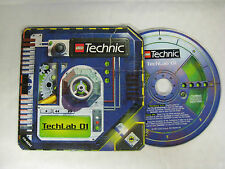 LEGO Technic TECHLAB 01 Windows/Mac PROMO CD-ROM-MEGA RARE