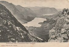 """Hundred Year old photo postcard from collection""""Buttermere and Crummock Honister"""