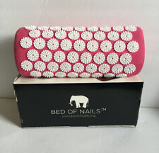 Bed of Nails Pink Original Acupressure Pillow for Neck/Body Pain Treatment