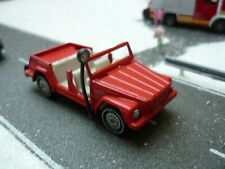 Siku 1332 VW 181 Kübelwagen Feuerwehr rot Einsatzleitwagen - Alte Räder! 1032