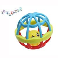 Funny Baby Grasping Rattles Ball Kids Boys Jingle Bell Infant Educational Toys J