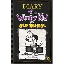 New!! Old School (Diary of a Wimpy Kid book 10) Hardcover Kid Gift FREE SHIPPING