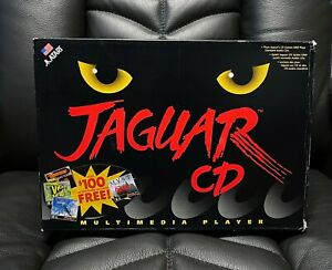 Atari Jaguar CD Console Boxed - Cleaned, Tested and Working