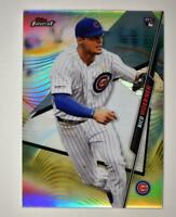 2020 Topps Finest Base Refractor #45 Nico Hoerner RC - Chicago Cubs