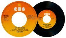 Philippines SANTANA Say it Again 45 rpm Record