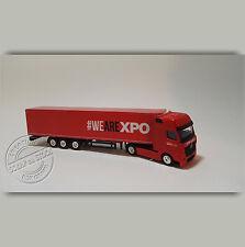 Camion Miniature Transports XPO Logistics 1/87 HO
