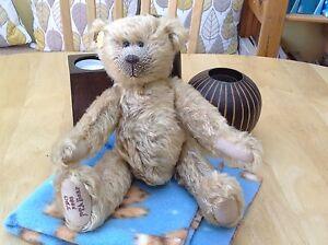 The Teddy Bear Orphanage Club Members Bear Year of 2002