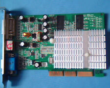 AGP card Nvidia MT-5205C NV FX5500 256MB DDR TV DVI VGA