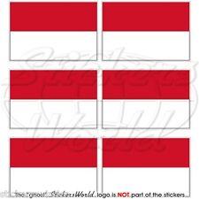 Bandera de Mónaco, Monte Carlo 40 mm Mobile atmosférica Teléfono Mini AUTOCOLLANTS x6