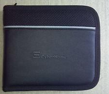 CyberHome Black 12 CD DVD Blu-Ray Disc Holder Case Zippered Storage Wallet