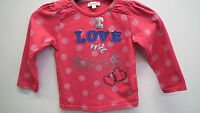 Blue Zoo Pink Polka Dot Long Sleeve Top Age 2-3  years