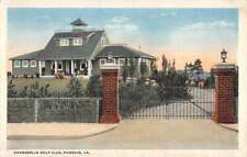 Phoebus Virginia Chamberlin Golf Club Exterior Vintage Postcard KK137