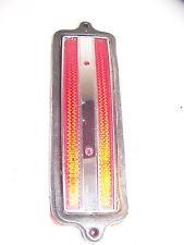 1973 CADILLAC FLEETWOOD RED SIDE MARKER LIGHT LENS & GASKET #5963445 OEM