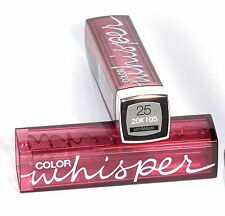 MAYBELLINE Color Whisper Lipstick  #25 Lust For Blush NEW