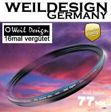 polfilter 77mm weildesign Germany - HOCHWERTIGER POLFILTER 16 FACH VERGÜTET