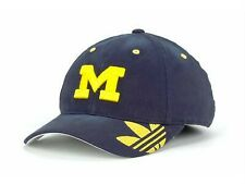 New Licensed Michigan Wolverines Adidas Coaches Sideline Flex Hat S/M Golf B142