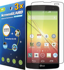 3x Clear LCD Screen Protector Guard Cover LG F60 Tribute/Transpyre LS660 V810PP