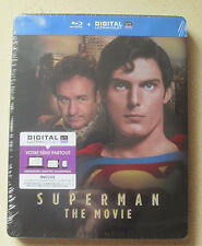 Superman the Movie 1978 Blu-Ray Steelbook New Sealed Region Free DC Super Heroes