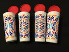 NEW Tupperware Set of 4 Decorated Tumbler Set - COSTA DEL SOL - FREE SHIPPING!