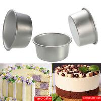 4/5/6/8/9'' Aluminum Alloy Non-stick Round Cake Baking Mould Pan Bakeware TB
