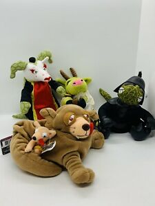 FARCE WARS The FANTOM MEANIES Beanies PLUSH  LOT OF 4