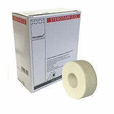 Sterotape ZO Zinc Oxide Injury Adhesive White Support Tape 2.5cm x 10m Box of 12