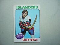 1975/76 O-PEE-CHEE NHL HOCKEY CARD #54 GARRY HOWATT NM SHARP!! 75/76 OPC