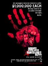 HOUSE ON HAUNTED HILL MOVIE POSTER 2 Sided ORIGINAL 27x40 GEOFFREY RUSH