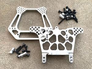 Aluminum Front & Rear Shock Tower Traxxas Slash 2WD VXL