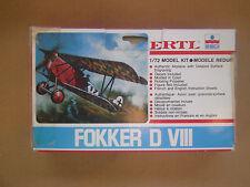 1/72 scale  ERTEL  WWI German Fokker D VIII Fighter